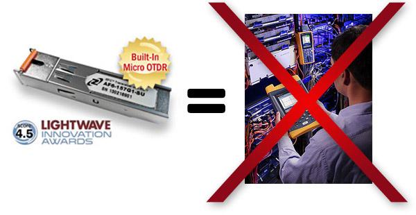 Engineer with OTDR vs. iSFC